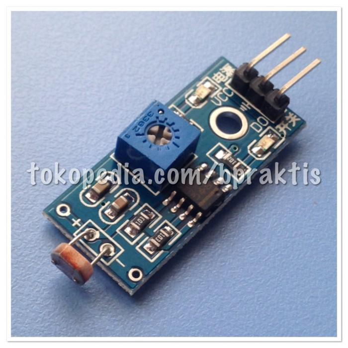 harga Photoresistor module / sensor pendeteksi cahaya Tokopedia.com