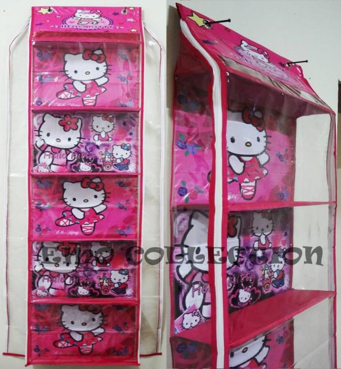 harga Hanging shoes organizer / rak sepatu/ boneka / buku (hso) hello kitty Tokopedia.com