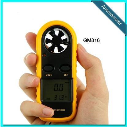 Foto Produk Digital Anemometer Pengukur kecepatan angin thermometer anemo meter dari TOKO NK