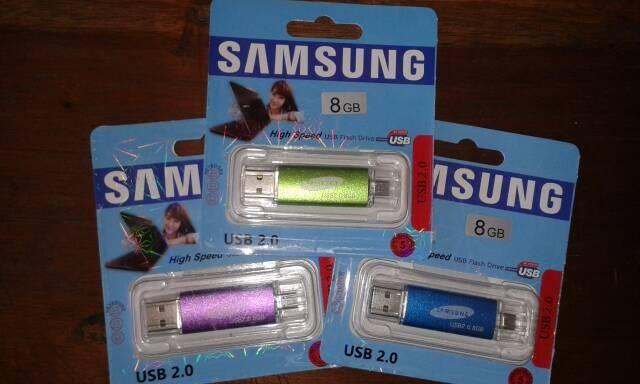 harga Flashdisk samsung  ultra dual  8gb bisa colok di android dan pc