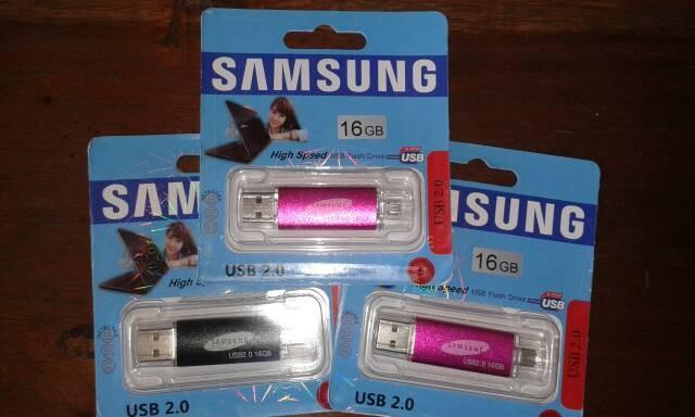 harga Flashdisk samsung  ultra dual  16gb bisa colok di android dan pc Tokopedia.com
