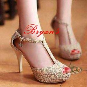 harga High heels brukat t Tokopedia.com