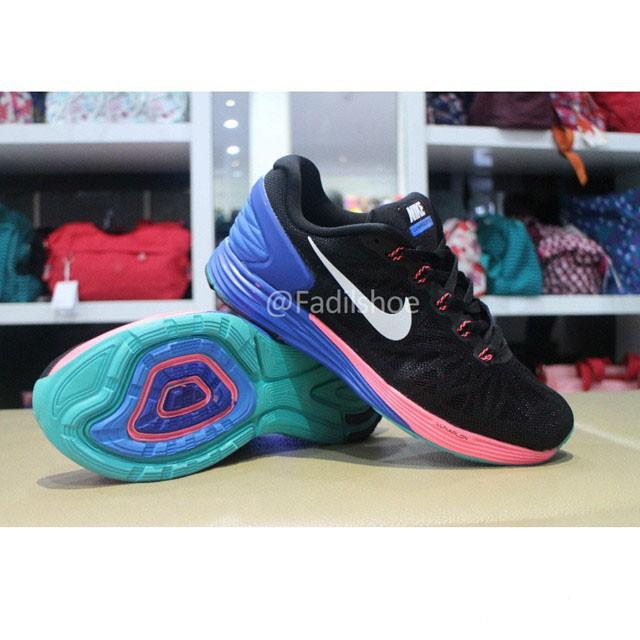 best sneakers 25054 236b8 NIKE LUNARGLIDE 6 HITAM ORIGINAL