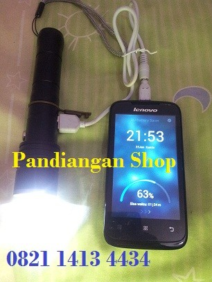 harga Senter police 128.000wat power bank Tokopedia.com