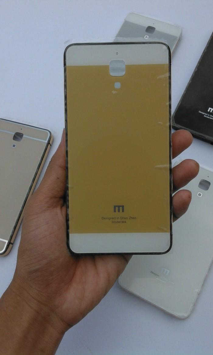 Jual Case Tempered Glass Xiaomi Mi4 Free Anti Gores Gold K Aiueo 4glte Screen Protector