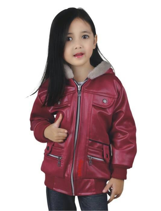 harga Jaket hoodie motor anak perempuan - maroon kd87 Tokopedia.com
