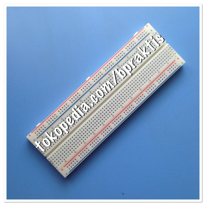 harga Breadboard mb-102 830 points solderless prototype bread board Tokopedia.com