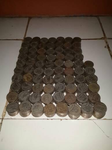 harga uang logam 100 rupiah nikel tebal tahun 1973 mulus sesuai gambar Tokopedia.com