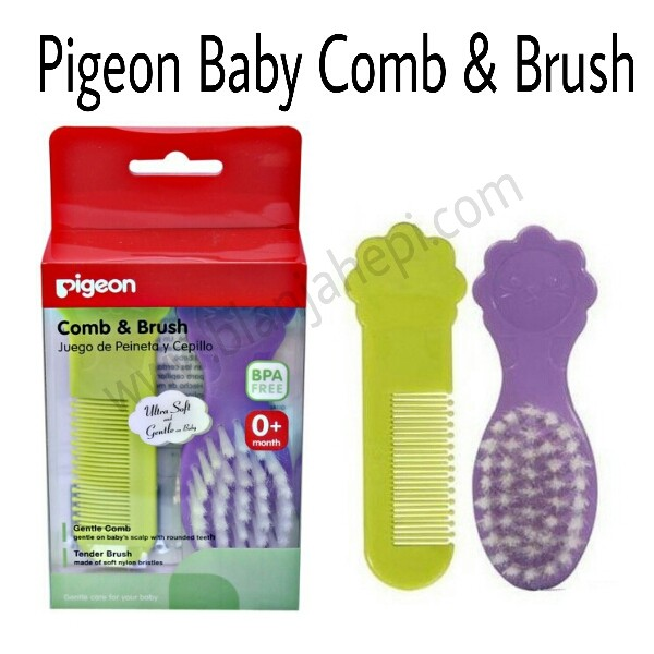 Pigeon Comb and Hair Brush - Sisir Bayi
