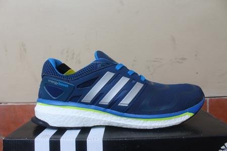... italy sepatu running adidas energy boost navy silver replika import  07ce5 e7870 3f59bcdc6