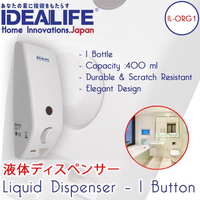 harga Liquid dispenser (1 button) / dispenser sabun | idealife | il - org1 Tokopedia.com
