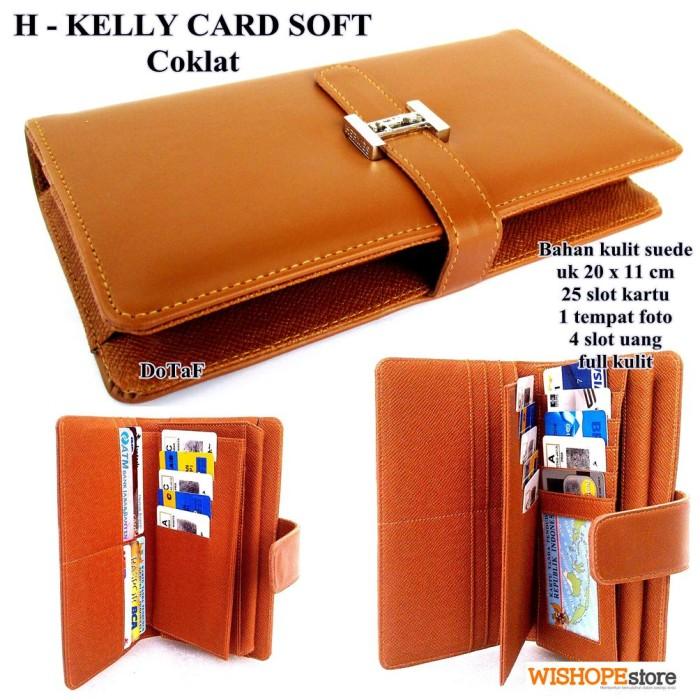 Jual SHOPPING CARD ORGANIZER (SCO) DOMPET HERMES KELLY CARD SOFT ... aac4a4cf2d