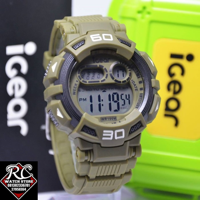 Jual Jam Tangan Igear I08 1998 Rc Watches Tokopedia