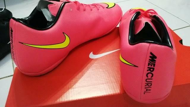 Jual Sepatu Futsal Nike Vapor X Mercurial Pink & Yellow