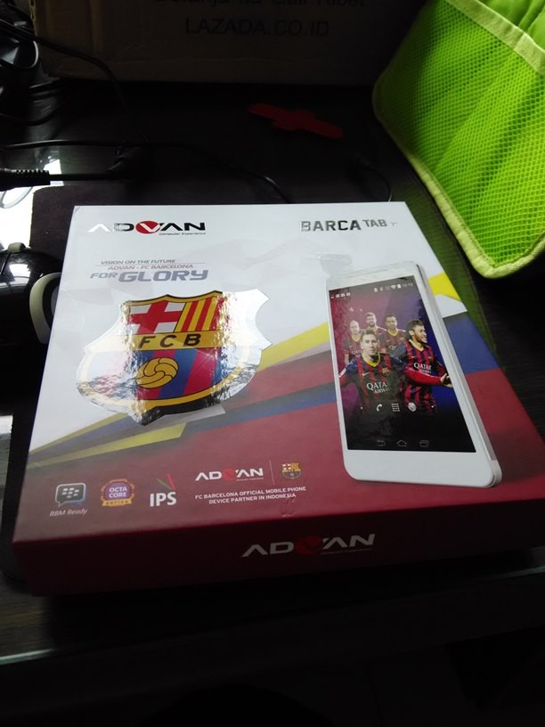 Advan Barca Tab 7 T1X Plus Gold Baru