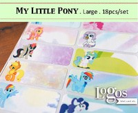 harga My little pony large label nama waterproof. sticker hasbro figurine Tokopedia.com