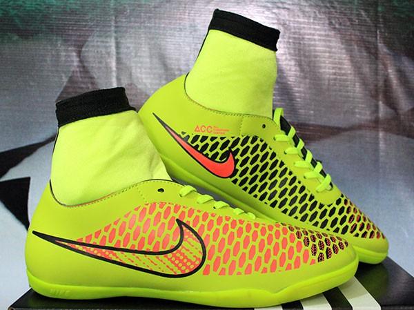 Jual sepatu futsal Nike Magista High Kuning Stabilo KW Super ... e80dac207c