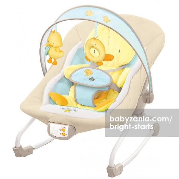 harga Bright starts comfort and harmony rocker baby bouncer - snuggle duckl Tokopedia.com