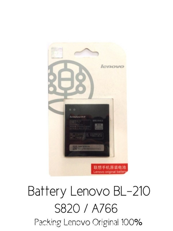 Battery Lenovo BL-210 S820 / A766 Original 100%
