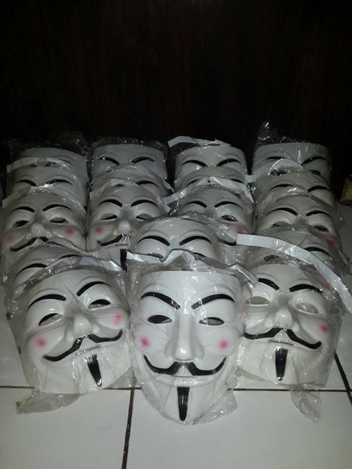 Jual Topeng Anonymous Hacker V For Vendetta Harness Online