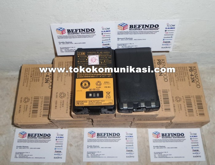 harga Battery ht ( handy talkie ) kenwood pb43 ( untuk ht kenwood th-k2at ) Tokopedia.com
