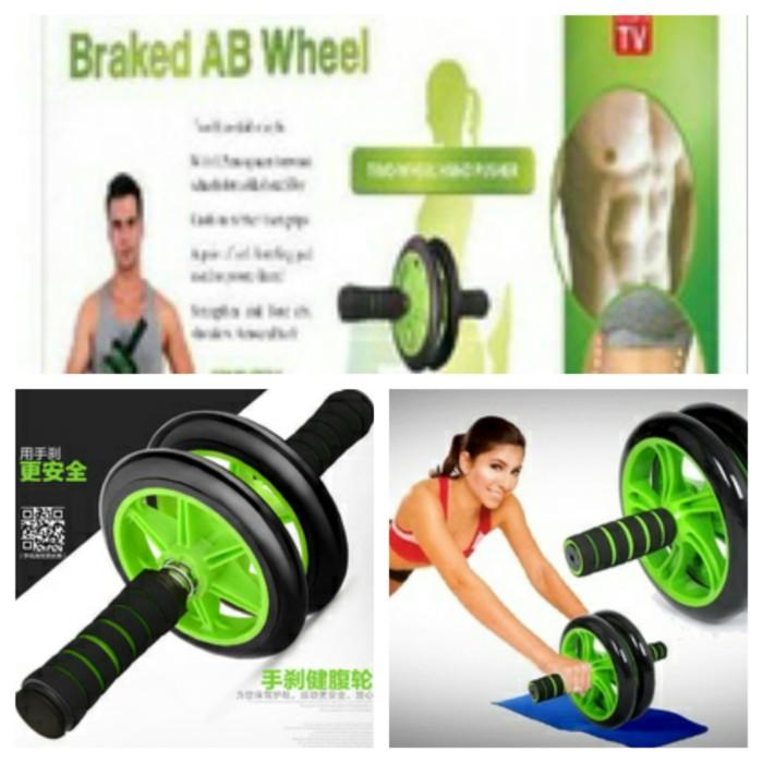 harga Braked ab wheel / alat olahraga gym fitness / roda bubble Tokopedia.com