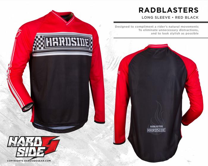 harga Jersey motocross / sepeda hardside  radblasters  red Tokopedia.com