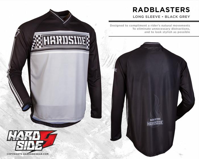 harga Jersey motocross / sepeda hardside  radblasters  gray Tokopedia.com