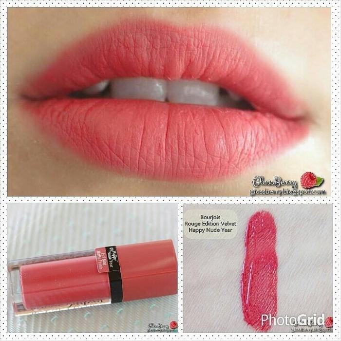 harga Bourjois rouge velvet no 9 happy nude year Tokopedia.com