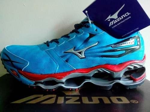 Jual Sepatu Running Volly MIZUNO WAVE PROPHECY 2 Blue Original ... 143ee6a35e