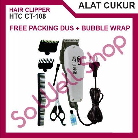 HTC CT-108 Best Hair Clipper Alat Mesin Cukur Potong Pangkas Rambut