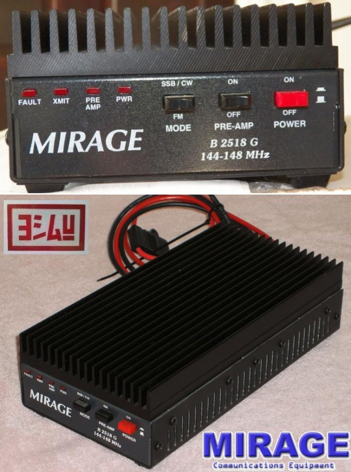 Jual Mirage B-2518-G > the VHF Linear Amplifier,25W IN-160W OUT,144-148 MHZ  - DKI Jakarta - EVERYTHING4U | Tokopedia