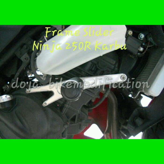 Jual FRAME SLIDER MHR (MODEL KITACO) NINJA 250 R ...
