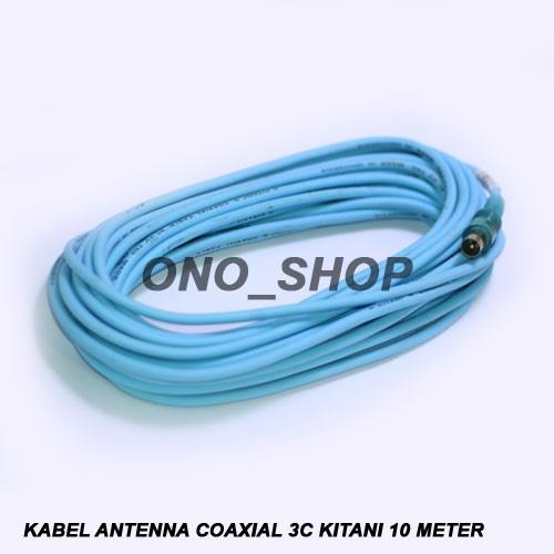 harga Kabel antenna coaxial 3c kitani 10 meter Tokopedia.com