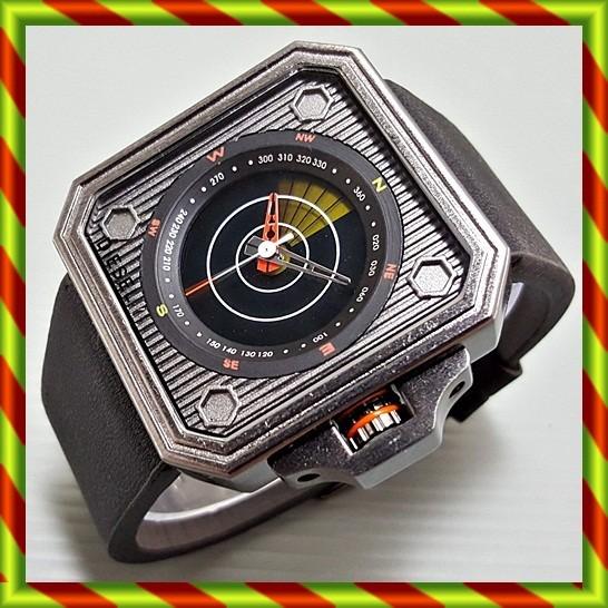 harga Jam tangan diesel radar hitam   kulit rolex swiss army fossil unik Tokopedia.com