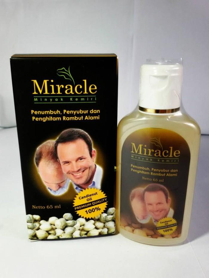jual penumbuh penyubur rambut pria minyak kemiri miracle - sunny Gambar Minyak Kemiri Miracle