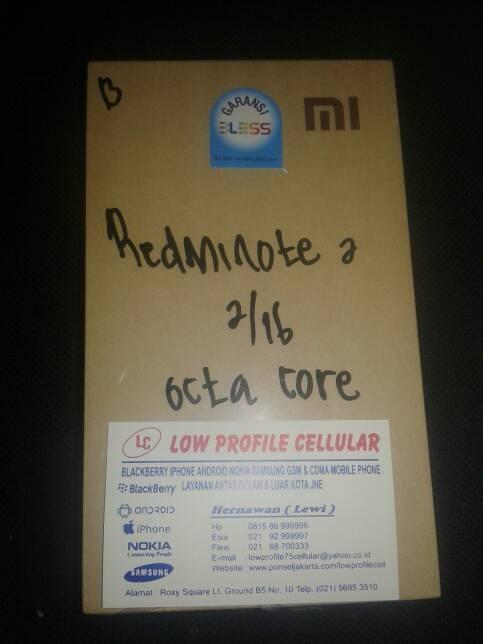 harga Xiomi redmi note 2 Tokopedia.com