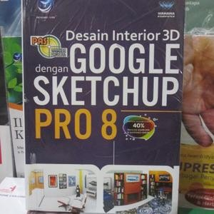harga Pas : desain interior 3d dengan google sketchup pro 8 Tokopedia.com