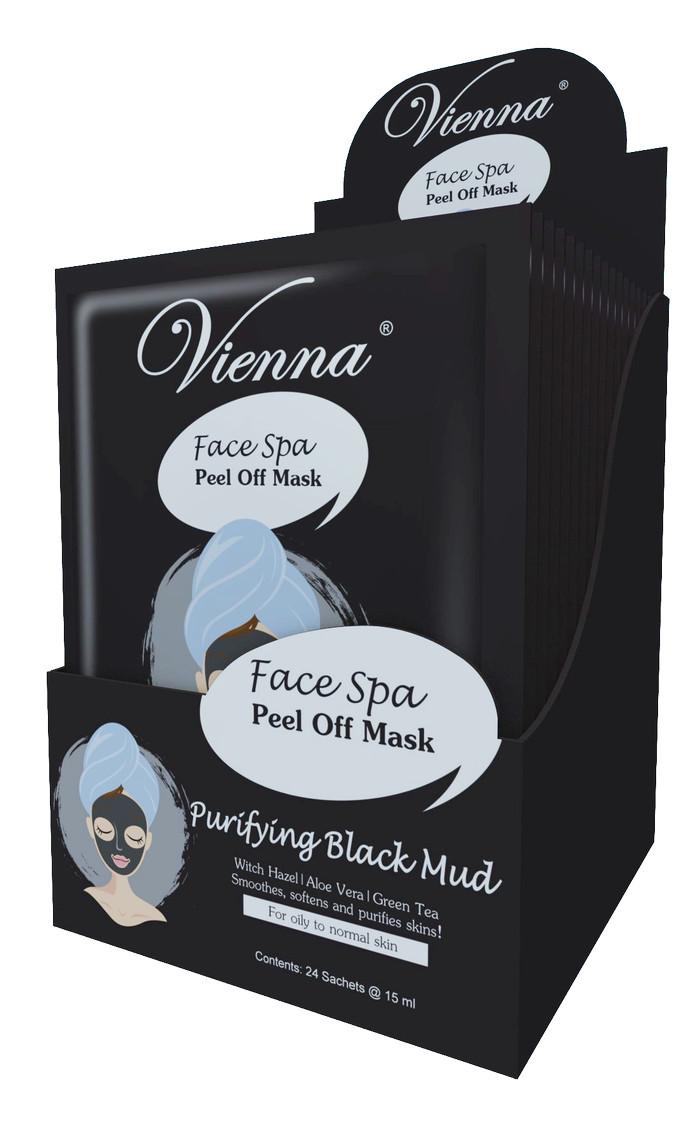 Vienna Face Spa Peel Off Mask Purifing Black Mud 15ml Spec Dan Azzahra Masker Maks Goats Milk Delight Sachet Purifying Wajah