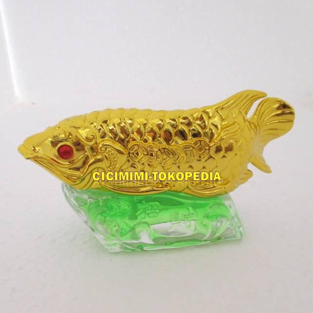 harga Parfum mobil model ikan arwana gold Tokopedia.com