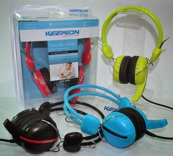 harga Keenion headset (headphone + mic) kos-699 Tokopedia.com