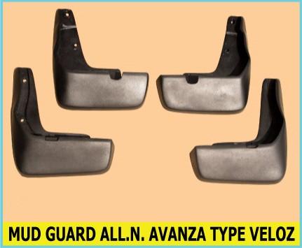 harga Mud guard toyota all new avanza type veloz ( karet panahan lumpur ) Tokopedia.com