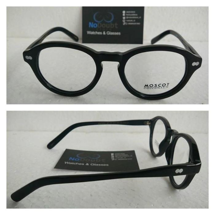 Kacamata Moscot Miltzen Black (KW Super Premium) 99% Like Original
