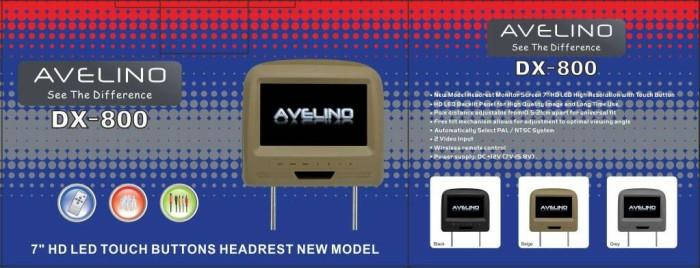 harga Headrest monitor new model hd amoled avelino dx-800 Tokopedia.com