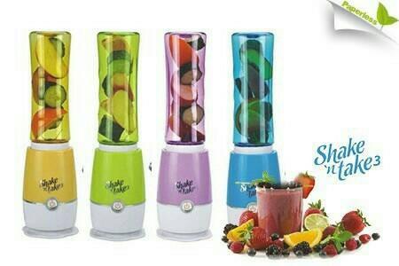 Shake n take 3 (2 tabung) blender juicer