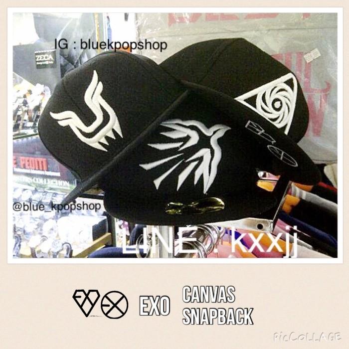 Topi snapback kpop exo harga Topi snapback kpop exo Tokopedia.com 1317398fa1
