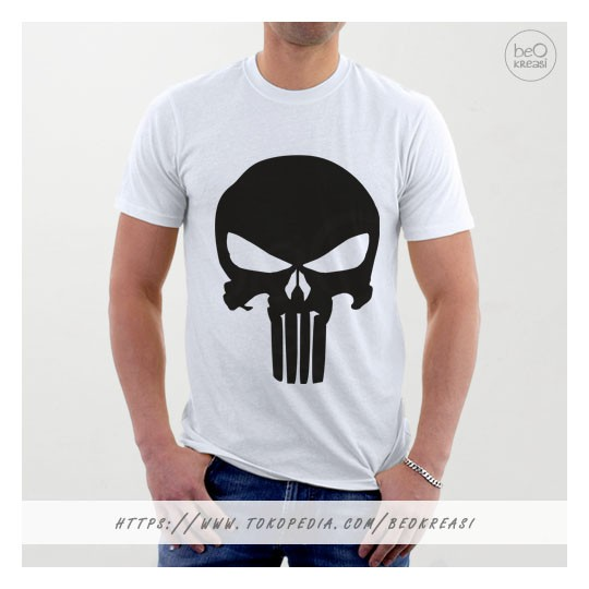 Vanwin Kaos T Shirt Distro Spiderman Hitam Daftar Harga Terlengkap Source Kaos T shirt Punisher