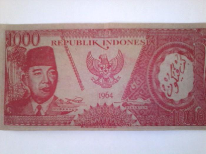harga Uang Soekarno 1000 tahun 1964 Tokopedia.com