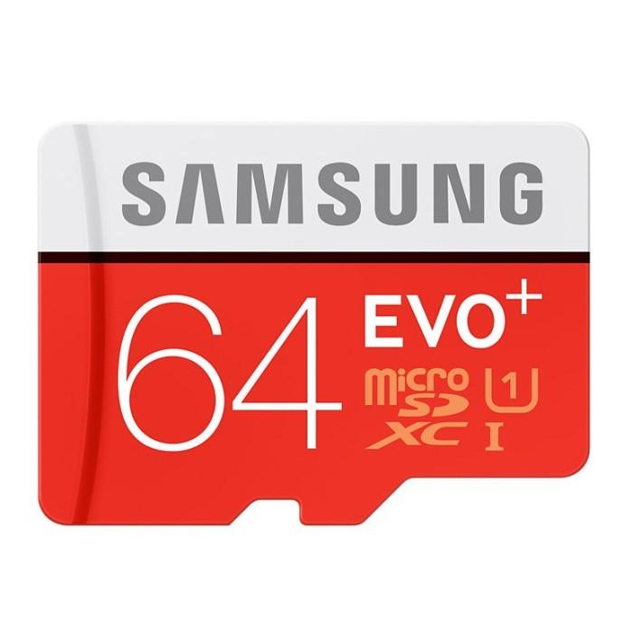 harga Samsung Microsdxc Evo Plus Class 10 Uhs-1 (80mb/s) 64gb Sd Adapter Tokopedia.com