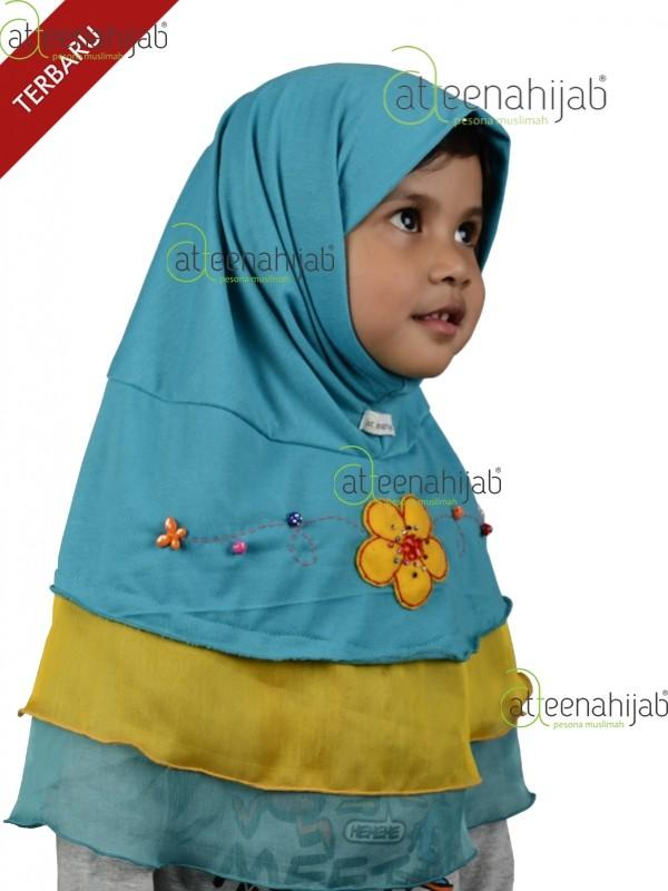 Jilbab anak kerudung instan baju anak muslim 3-12 tahun FATIN CINDEREL